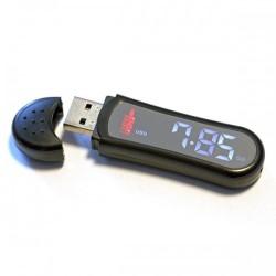 USB Flash Drive 8GB Platinet cu afisaj ceas si pedometru