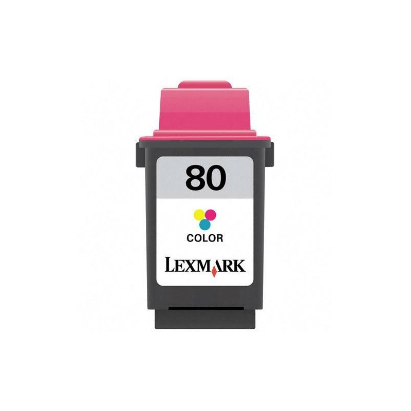 Cartus compatibil 12A1980 Lexmark 80 Color