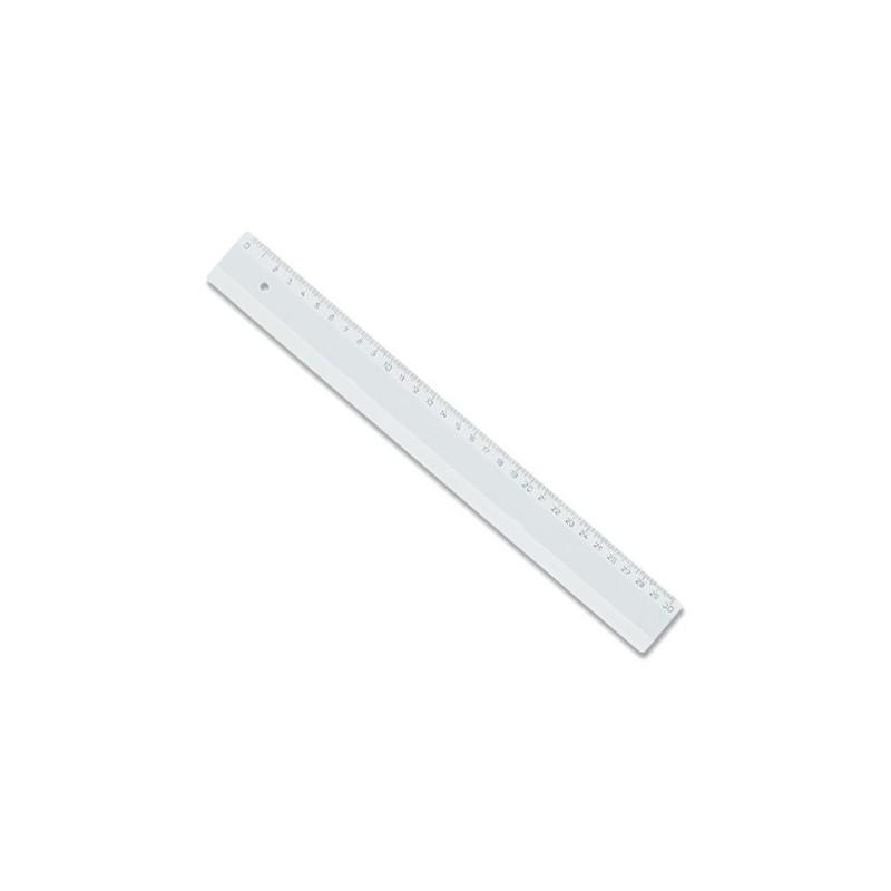 Rigla transparenta 30cm din plastic