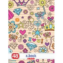 Caiet Herlitz A5 48 file Fabulous