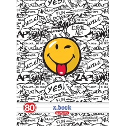 Caiet studentesc A4 80 file Herlitz Smiley Face