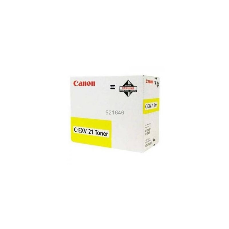 Toner original Canon C-EXV21Y Yellow