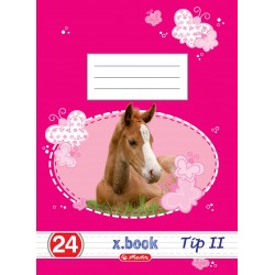 Caiet Herlitz Tip II format A5 24 file Pretty Pets