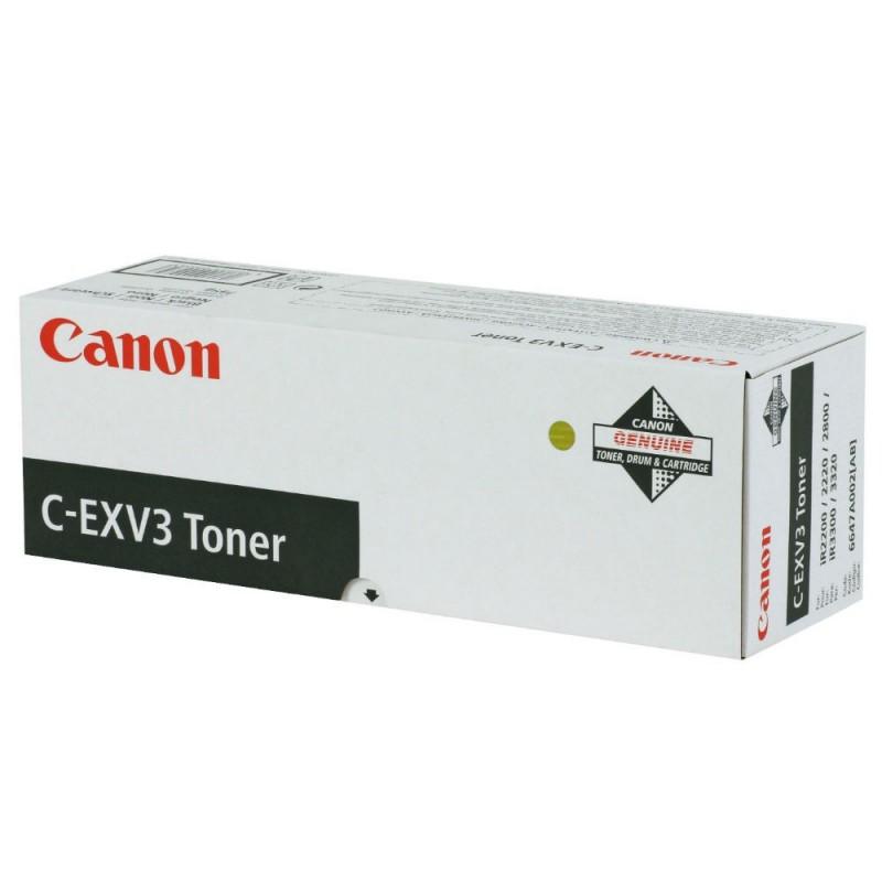 Toner original Canon C-EXV3 Black pentru IR2200 IR2800 IR3300