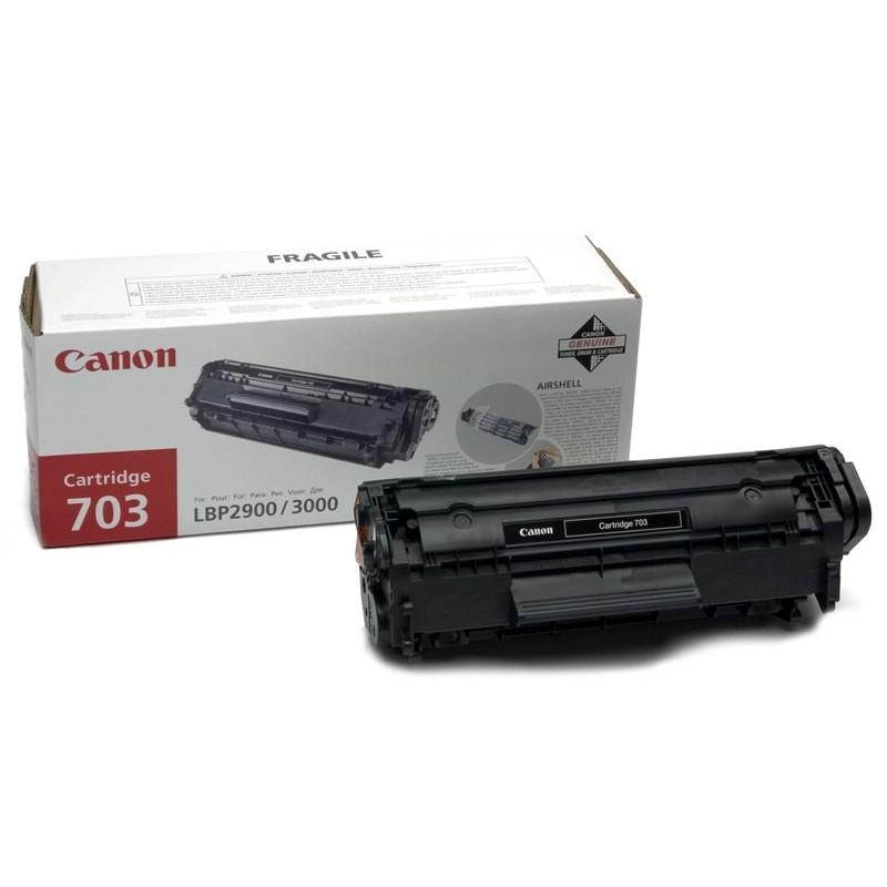 Toner original Canon CRG-703 pentru LBP-2900 LBP-3000 CRG-703 EP-703