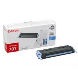 Toner original Canon CRG-707C Cyan pentru LBP-5000