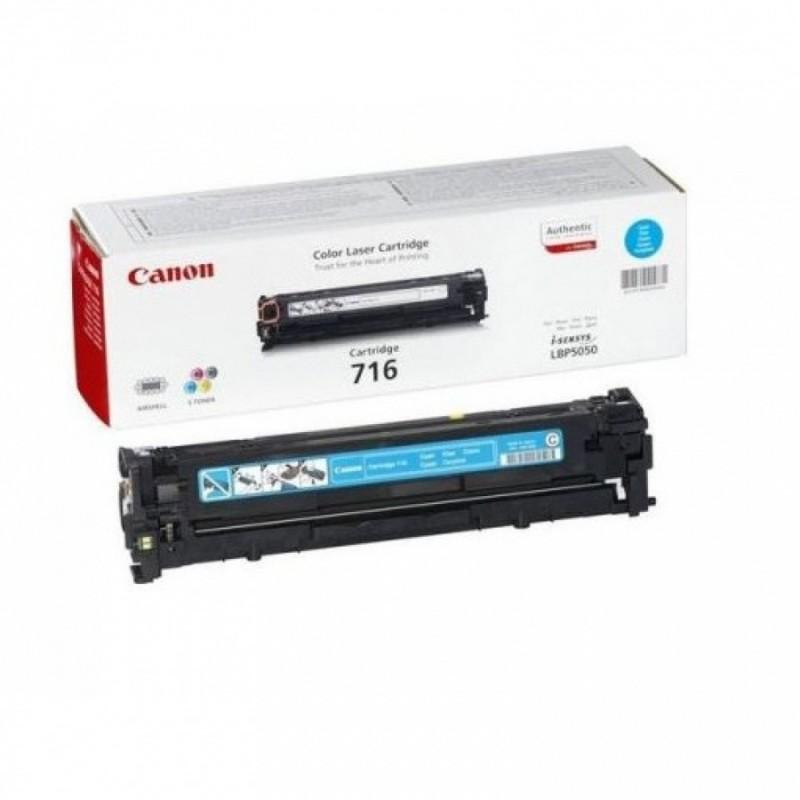 Toner original Canon CRG716C Cyan pentru LBP5050 LBP5050N
