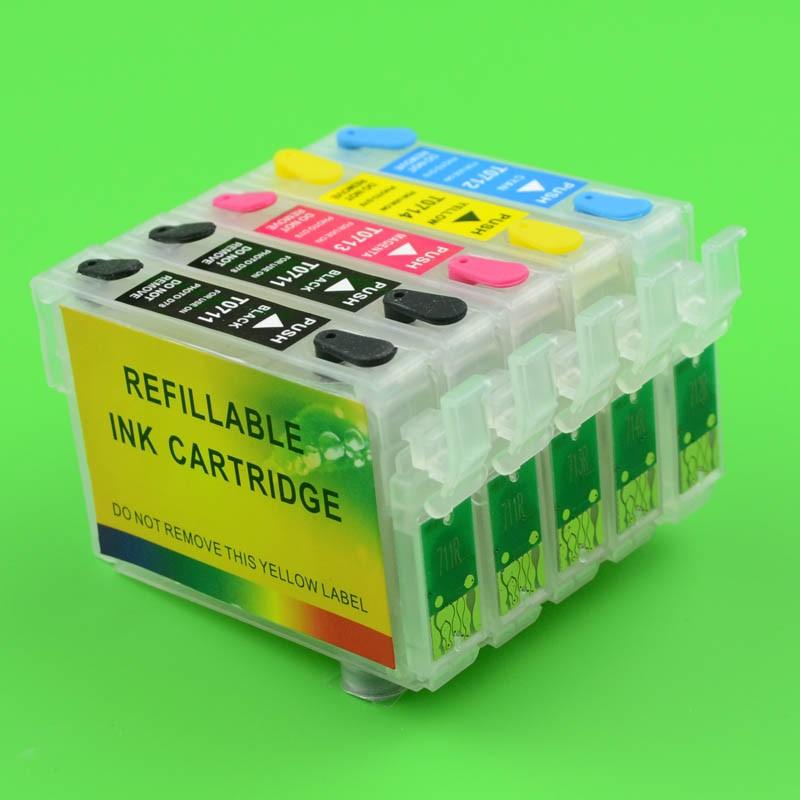 Cartuse Reincarcabile Pentru Epson Bx310 D120 Cerneala: Cu Cerneala Pigment