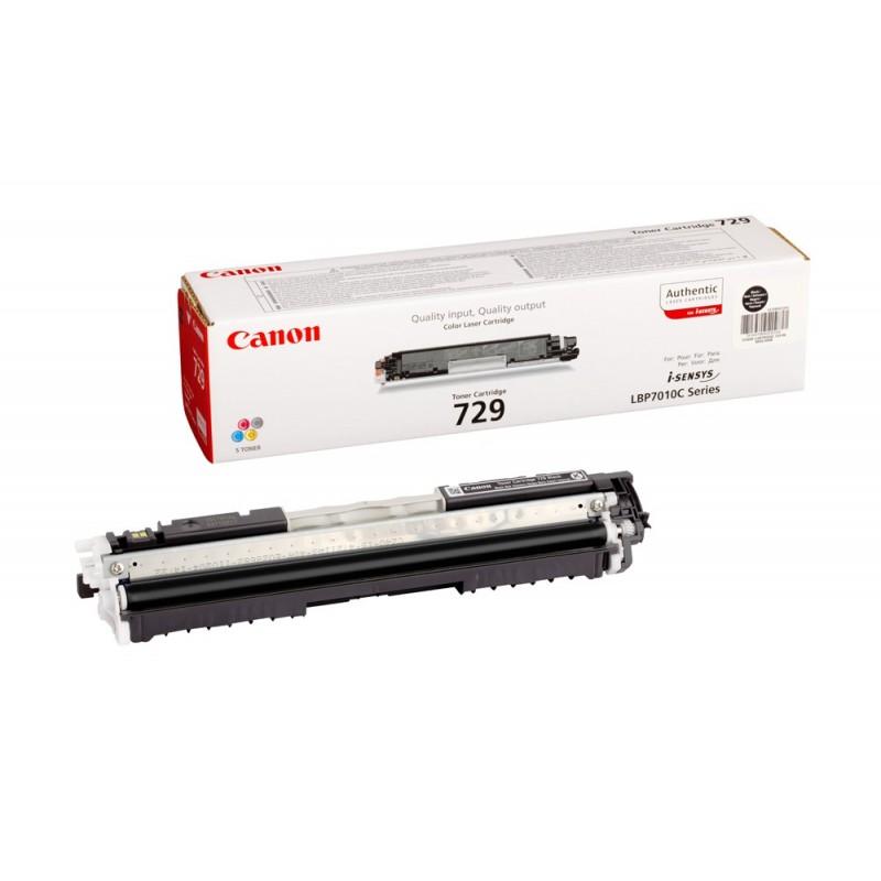 Toner original Canon CRG-729BK Black pentru LBP7018C