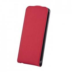 Flip Premium Sony Xperia J Negru Rosu