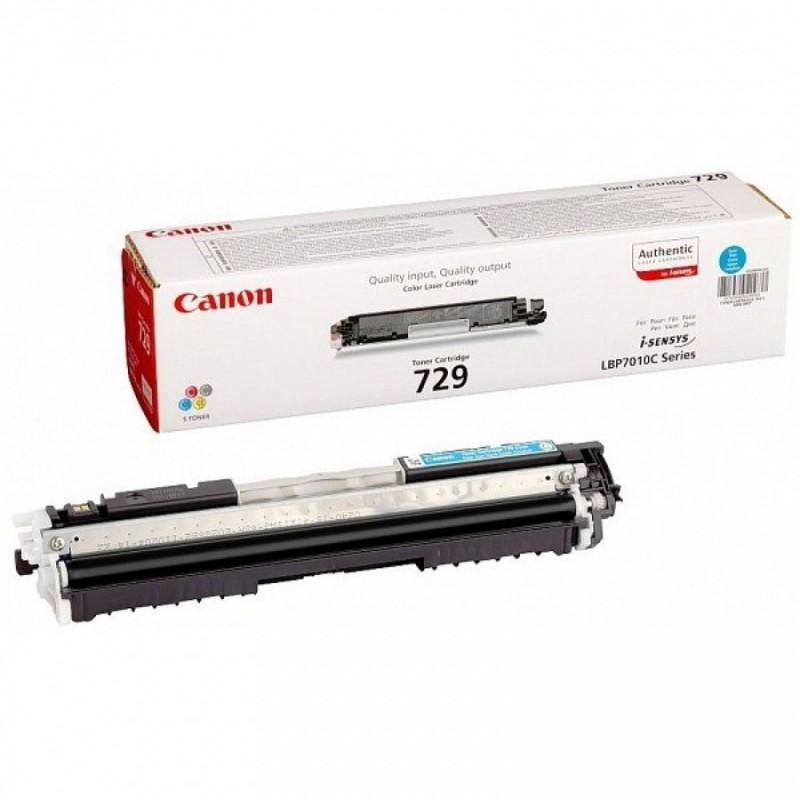 Toner original Canon CRG-729C Cyan pentru LBP7018C