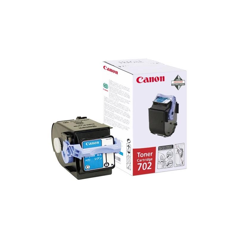 Toner original Canon EP-702C Cyan pentru LBP5960 LBP5970 LBP5975