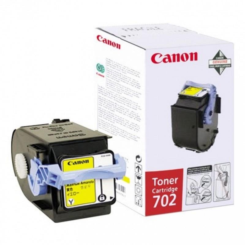 Toner original Canon EP-702Y Yellow pentru LBP5960 LBP5970 LBP5975