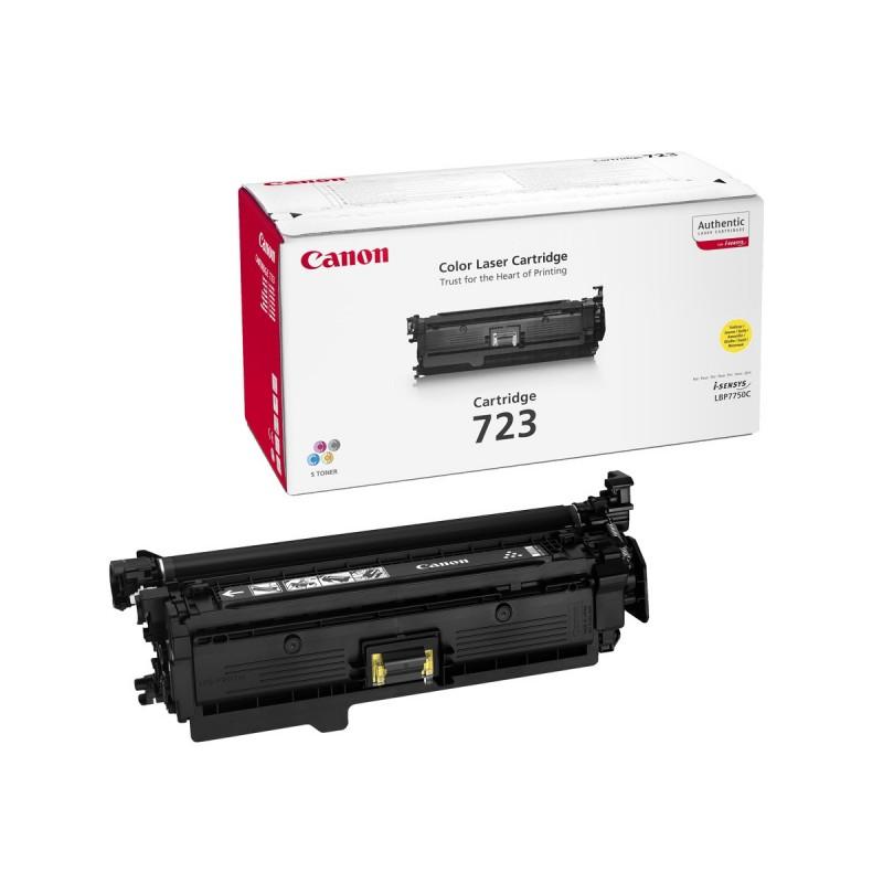 Toner original Canon CRG-723Y Yellow pentru LBP7750CDN