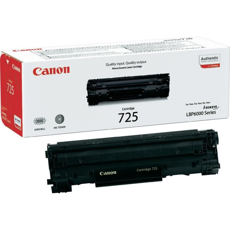 Toner original Canon CRG725 Black pentru LBP6000