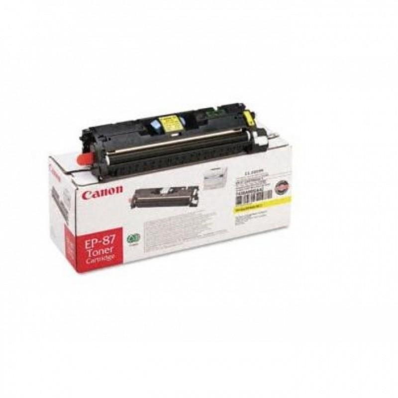 Toner original Canon EP-87Y Yellow pentru LBP 2410