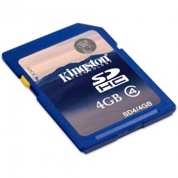 Memorie Kingstone SDHC 4GB Clasa 4