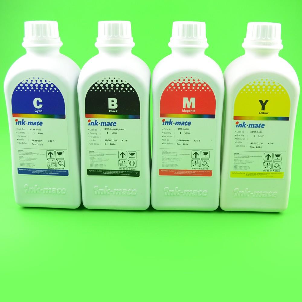 Cerneala Pigment Pentru Hp940 Hp950 Hp951 Hp933 Hp932 - Set 4 Culori Cantitate: 1000 Ml