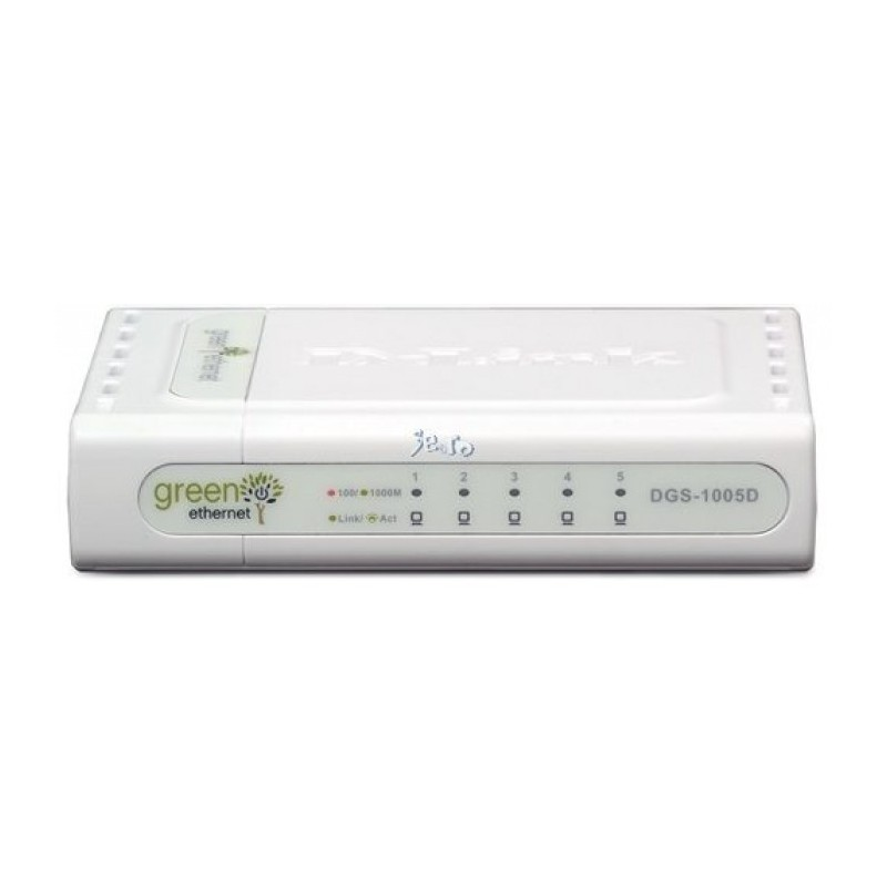 5-port 10/100/1000 Gigabit Desktop Switch