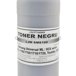 Toner praf refill negru compatibil cu Samsung SCX4521 ambalaj eticheta