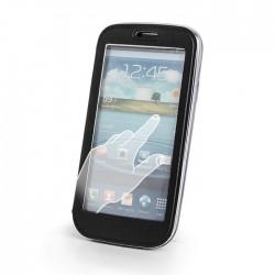 Husa flip pentru Iphone 4/4s cu fereastra tip stand