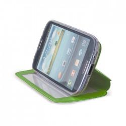 Husa iPhone 6 Flip cu fereastra si stand