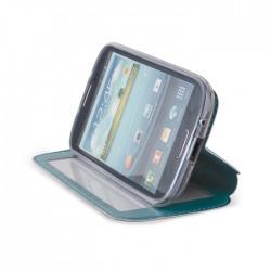 Husa pentru LG L40 din piele eco cu fereastra si stand