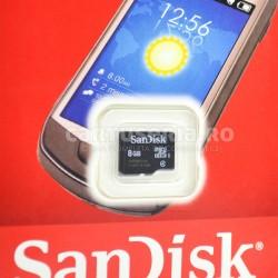 Card microSDHC SanDisk 8GB