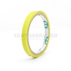 Banda pentru sigilat pungi 9 x 66 mm colorata galben