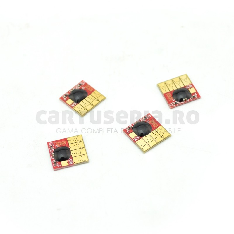 Set chip-uri autoresetabile pentru cartuse HP-655