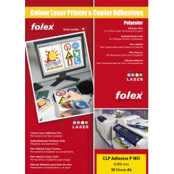 Folie inkjet autoadeziva printabila A4 opaca laser