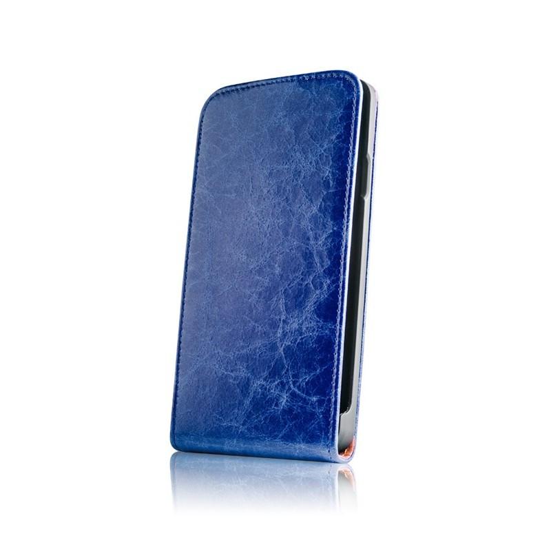 Husa Flip Exclusive pentru iPhone 6 Plus confectionata din piele