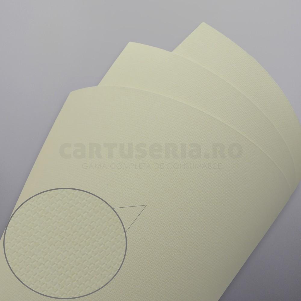 Carton Texturat Format A4 230g Top 20 Bucati Culoare: Crem textura: Cristal