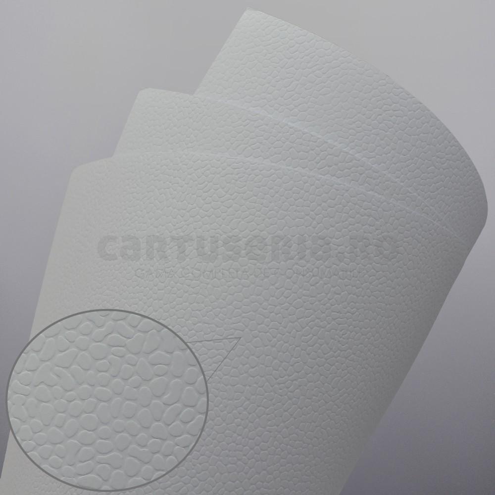 Carton Texturat Format A4 230g Top 20 Bucati Culoare: Alb textura: Mosaic