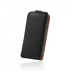 Husa Flip Plus din piele ecologica pentru Nokia Lumia 830