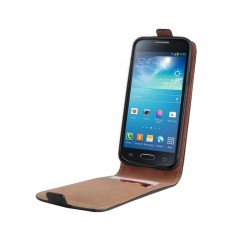 Husa flip Plus pentru Sony Xperia E2 cu buzunar card