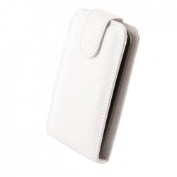 Husa din piele eco flip pentru Sony Xperia E