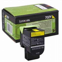 Toner original Lexmark 70C20Y0 Yellow