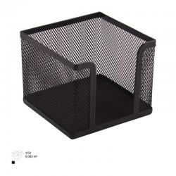 Suport metalic cub cu plasa pentru notite