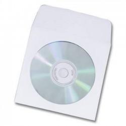 Plic CD DVD 124x127mm cu inchidere gumata 100 bucati