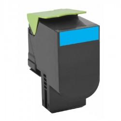 Cartus toner compatibil RT-80C0S20 pentru Lexmark 800S2 cyan