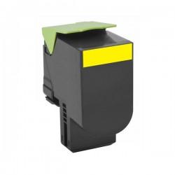 Cartus toner compatibil RT-80C0S40 pentru Lexmark 800S4 galben