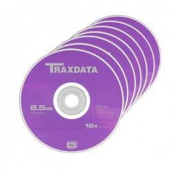 DVD+R Dual Layer 8.5Gb 8x Traxdata 10 bucati