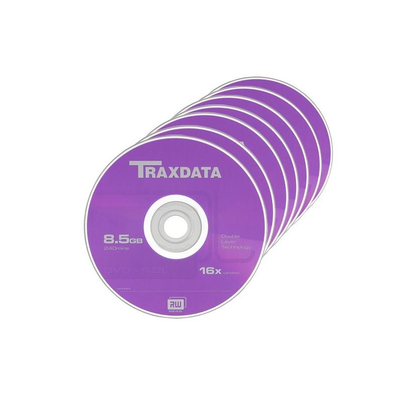 DVD+R Dual Layer 8.5Gb 8x Traxdata 10 bucati