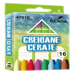 Creioane colorate cerate 90mm 16 bucati/set