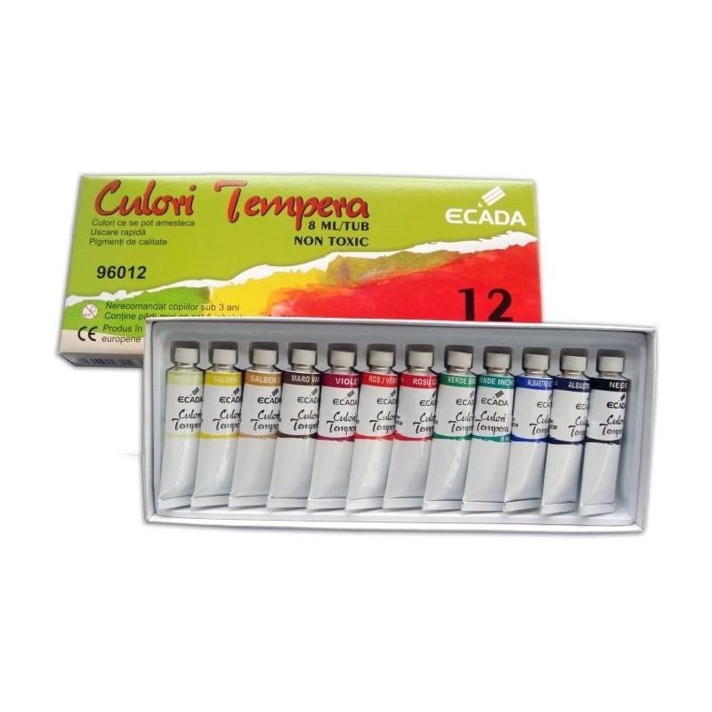 Set 12 culori tempera