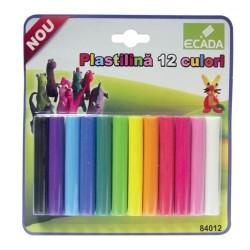 Plastilina pentru modelaj 12 culori