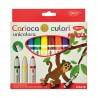 Set carioci Maxi Unicolora Daco 10 culori