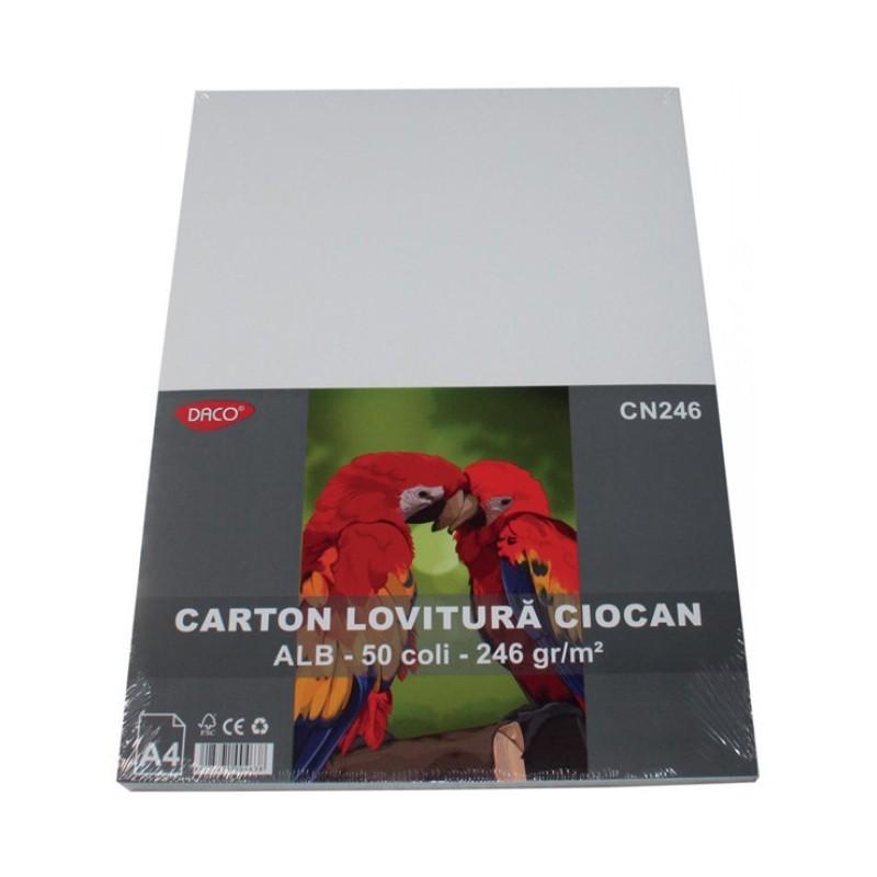 Carton lovitura ciocan 246g A4 50 coli Daco