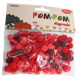 Pom-Pom 10mm set 120 bucati